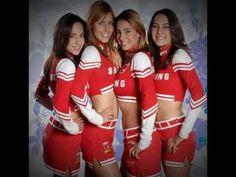 Porristas Santa Fe de Novela Juego Limpio Fes, Cheerleading, Cheer Skirts, College, Santa Fe, Saints, French Actress, Game, Novels