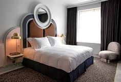 Book a room at the Henrietta Hotel in Covent Garden, Centra London. Explore the Covent Garden Room, a double room with ensuite bathroom and separate sitting area. London Hotels, Covent Garden, Contemporary Bedroom, Modern Bedroom, Henrietta Hotel, Book A Hotel Room, Hotel Room Design, Scandinavian Bedroom, Cozy Bed