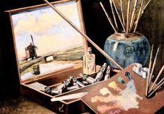 Öljyvärimaalaus on yksi arvostetuimpia taidemuotoja.