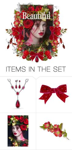 """""""Garden Beautiful"""" by tattered-rose ❤ liked on Polyvore featuring art"""