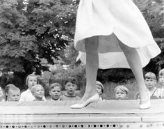 """theniftyfifties: """" Little boys watching the big girls at Austrian fashion school, """" Love Pictures, Great Photos, Runway Fashion, Fashion Show, Creepy Kids, Boys Watches, Child Actors, Female Photographers, Life Magazine"""