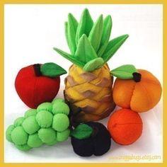 Lieblings-Obst PDF fühlte Essen Muster Ananas von BuggaBugs