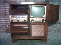 Rare Mid-Century 1951 Admiral Television / Phongraph / Radio Combo - Vintage Home Theatre