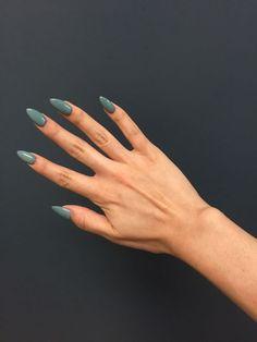 Beautiful green nails