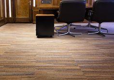 Libra Lines carpet tiles by Desso