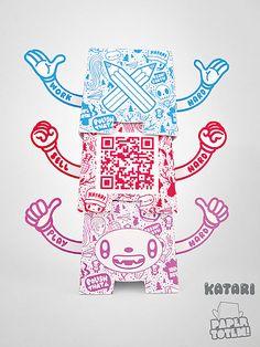 Paper Totem! by Katari