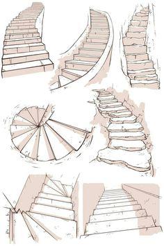 Escada molde