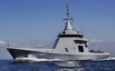 (...)OPV L'Adroit has a length of 87 metres, an at-sea endurance of 3 weeks and a range of 8,000 nautical miles. With a top speed of 21 knots, the vessel has a helicopter flight deck and can accommodate UAV (unmanned aerial vehicle) operations. It is designed for reduced crewing, with a complement of 30 and space for 30 passengers. The ship features a number of major innovations for navies, commandos and coastguards