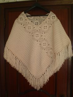 Crochet poncho shawl granny squares Ideas You are in the right place about crochet clot Poncho Shawl, Crochet Poncho Patterns, Knitted Poncho, Crochet Cardigan, Crochet Scarves, Crochet Shawl, Crochet Clothes, Crochet Lace, Knitting Patterns