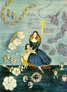 Trifari Costume jewellery - Mother's Day