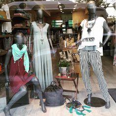 #window_displays #summer_2015 #helmi #store Window Displays, Striped Pants, Summer 2015, Helmet, Store, Fashion, Store Windows, Striped Tights, Moda
