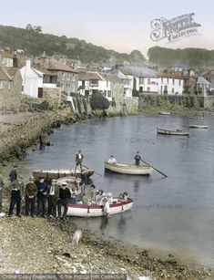 Mousehole, 1927 taken by a @francisfrith photographer. #Cornwall