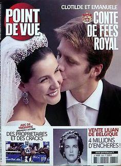 POINT DE VUE 2003: MARIAGE CLOTILDE COURAU et EMMANUEL-PHILIBERT DE SAVOIE in Livres, BD, revues | eBay