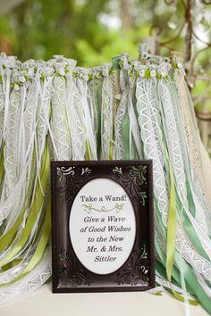 A magical wedding. Photo by Megan #weddingfavors #MinneapolisEventPlanners