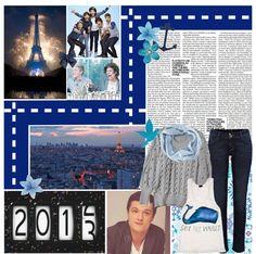 """{{Set #311}} Au revoir 2012!♥ [Hannah + PG&'s Celebrity Challenge]"" by tori-mellark ❤ liked on Polyvore"