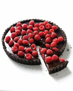 """See the """"Chocolate-Raspberry Tart"""" in our  gallery"""