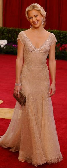 Kate Hudson's  Versace gown .