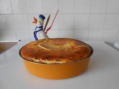 Gâteau+mousseux+au+fromage+blanc+et+citron.