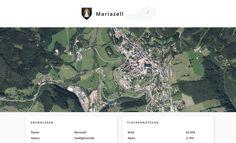 Screenshot der Gemeinde Mariazell, Steiermark, auf Similio, dem mehrsprachigen Geographie- & Informationsportal über Österreich. Geographie, Wirtschaftskunde, Statistik Portal, City Photo, Statistics, Communities Unit, Economics, Alps, Woodland Forest, Things To Do, City