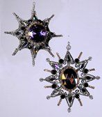 Baguette Star Ornament 2 Assorted