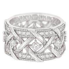 ☆ Ring in 18K white gold and diamonds ☆