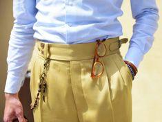 Gurkha pants details. - - #gurkha #gurkhapants #bespoke #pants #details #pitti #...  #bespoke #Details #Gurkha #gurkhapants #pants #pitti Bespoke Suit, Bespoke Tailoring, Men Trousers, Gentleman Style, Minimal Fashion, Preppy Style, Mens Clothing Styles, Costume, Menswear