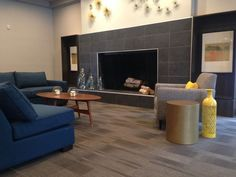 Image result for Finishing tile edges on a fireplace