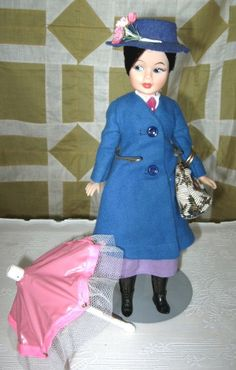 Mary Poppins doll - I saved my Mary Poppins doll to give to my daughter (somehow I knew I would have one) She lost her parasol, carpet bag and hat, but I was very proud that her bun stayed intact. Sadly, my daughter didn't care for it.