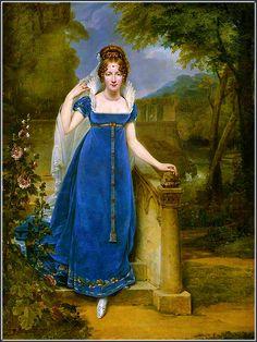 Gros, Antoine-Jean, portrait of Henriette Scherrer, comtesse Legrand, 1813