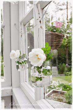 Scandi Style, Flora, Koti, Table Decorations, Garden, Plants, House, Home Decor, Landscape