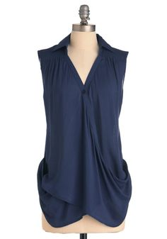 Drape Things to Come Top - I need this top.  I can see myself wearing this all summer.