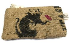Eco friendly upcycled  burlap coffee sack by thecoffeebagcompany, £5.95