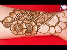Beautiful Arabic Mehndi designs for Front hands You Will Learn in This video. This Beautiful Arabic Mehndi designs for . Beautiful Arabic Mehndi Designs, Indian Henna Designs, Basic Mehndi Designs, Mehndi Designs 2018, Mehndi Designs For Girls, Mehndi Designs For Beginners, Wedding Mehndi Designs, Mehndi Design Images, Henna Tattoo Designs