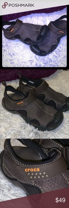 6677a19b6a09 Crocs Swiftwater Sport Sandals Like New Like New- worn once These are a MENS  8