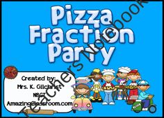 Making Fractions with Pizza Promethean ActivInspire Flipchart Lesson product from WorkaholicNBCT on TeachersNotebook.com