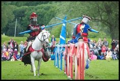 Spectacular Jousting at Linlithgow Palace, 2013 #scotland #history #family #events