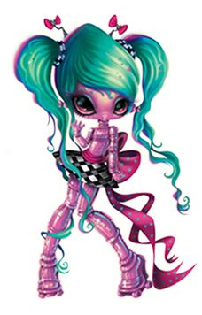 Age: 200 Trillion Light Years Mission: To teach my Earth friends how to think like a star! in different colors Personality: Brainy & Organized Pet: Hi-Def™ Fashion Style Kawaii Chibi, Kawaii Anime, Character Illustration, Illustration Art, Novi Stars, Gothic Angel, Stars Play, Monster High Dolls, Monster Art