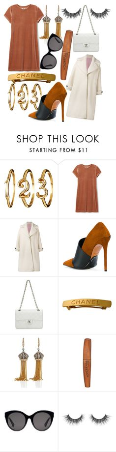 """""""Senza titolo #3835"""" by polly98 ❤ liked on Polyvore featuring Olympia Le-Tan, Balmain, Chanel, Annoushka, Rimmel and Gucci"""