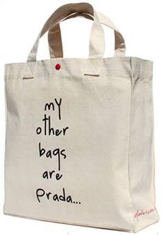Frizzifrizzi » My other bags are Prada…