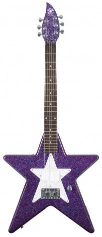 Debutante Star Short Scale - Cosmic Purple • • • $159.99 • • • Daisy Rock Girl Guitars® and DRG®