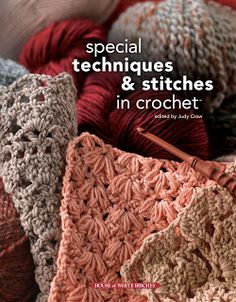 The author, Judy Crow has hit upon some gorgeous, out-of-the-ordinary patterns and stitch configurations that just seem to jump right off of the page...