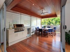 Outdoor living design with balcony from a real Australian home - Outdoor Living photo 106807