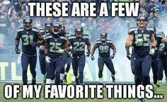 Yes it is! Sea....Hawks!