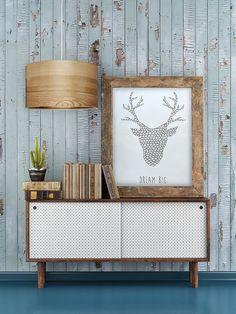 "Pendant Light, Natural Veneer Lampshade, Scandinavian Style Lamps""JENS"" by Sponndesign on Etsy"