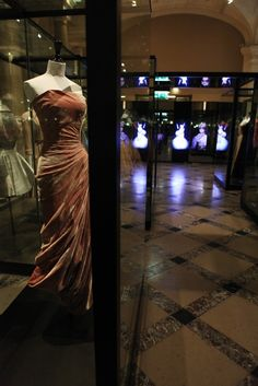 """""""Paris Haute Couture"""" opens this Saturday at the Hôtel de Ville. On display will be dresses, sketches, photographs and accessories from the foundations of Haute Couture as well as contemporary Houses. Included: 1895 Charles Frederick Worth gown, Balenciaga, YSL, Givenchy, Coco Chanel, Jean Dessès... Free: 03/02/13-07/06/13"""