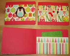 DIY giftcard card :) Cute Paper