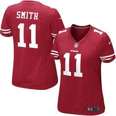 Women's Nike 49ers Alex Smith Jersey
