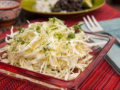 Cilantro-Lime Cream Slaw Recipe : Guy Fieri : Food Network