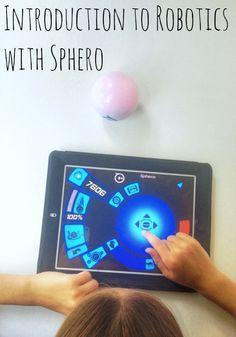 Introduction to Robotics with Sphero - http://innerchildfun.com/2014/07/introduction-to-robotics-sphero.html #kids #sponsored