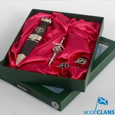 Brodie Clan Crest Kilt Accessory Set